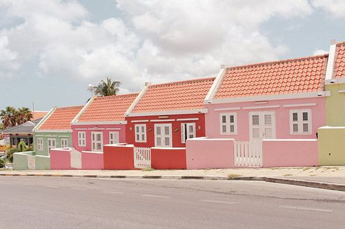 Gekleurde huisjes in Willemstad