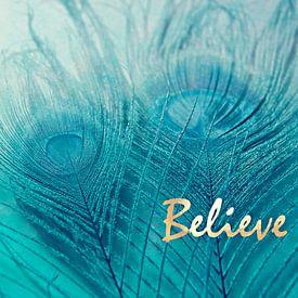 Believe in Aqua van Robin Dickinson