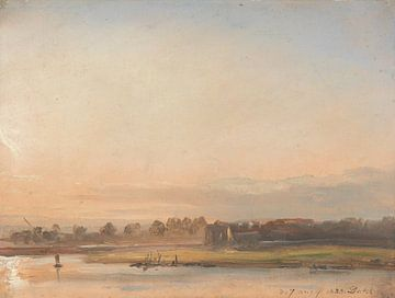 Blick auf die Elbe, Johan Christian Dahl