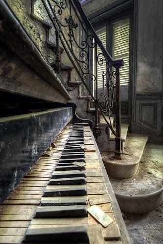 Piano Detail von Roman Robroek