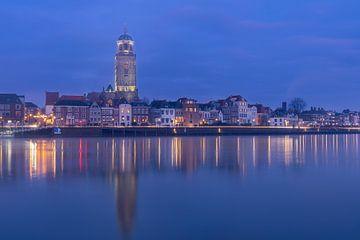 Deventer à la lumière bleue sur Hans Jansen - Lynxs Photography