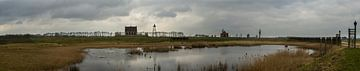 Mega Panorama van de Schokkerhaven van Leanne lovink