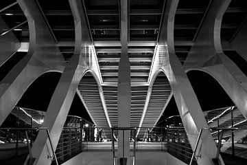 Spin /Station Luik-Guillemins  van Jo Miseré