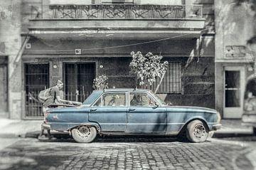 Alte Furt im Zentrum von Buenos Aires Argentinien von Ron van der Stappen