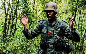 Duitse soldaat geeft zich over