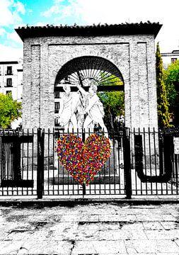 Plaza de dos de Mayo - Madrid van Birgit Wagner