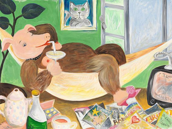 Schweinehündig hängt ab! van Dorothea Linke