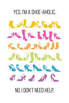 Schuh-Aholiker von Harry Hadders