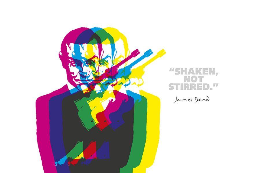 James Bond Quote van Harry Hadders