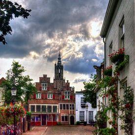Bloemendalse Binnenpoort historisch Amersfoort von Watze D. de Haan