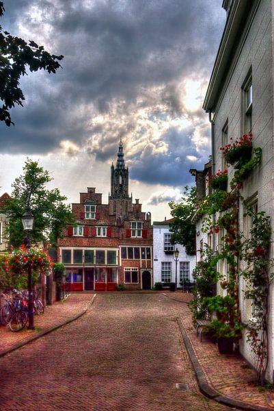 Bloemendalse Binnenpoort historisch Amersfoort van Watze D. de Haan