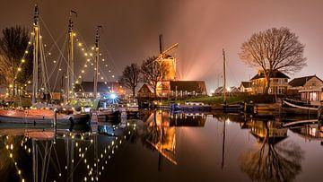 Oude haven van Harderwijk von Jenco van Zalk