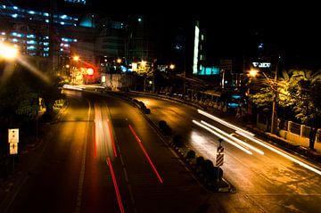 Bangkok by night van Olivier Van Acker