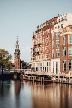 Munttoren in Amsterdam van Lorena Cirstea