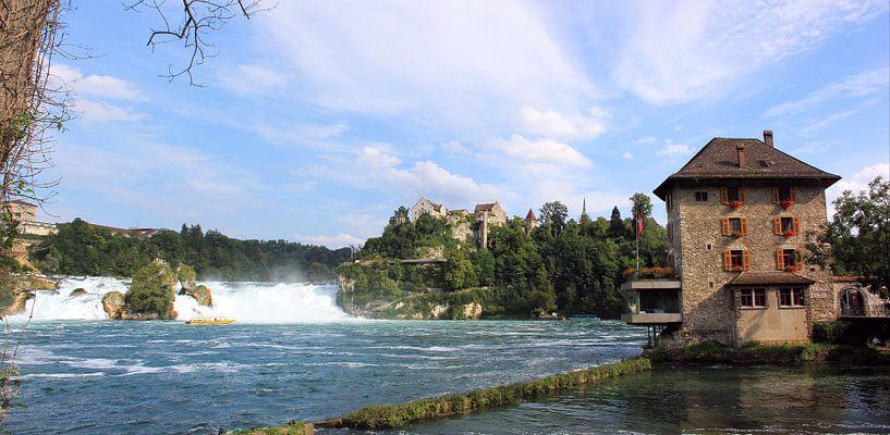 Rheinfall bij Schaffhausen van Hielke Roelevink