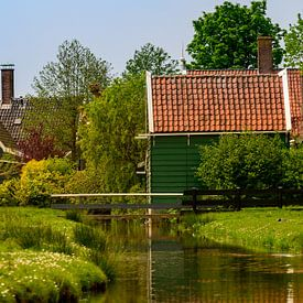 Vieilles maisons néerlandaises dans les zaansche schans sur Michel Knikker