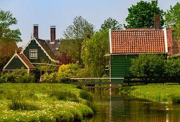 Alte niederländische Häuser in der Zaansche Schans von Michel Knikker