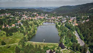 Hahnenklee im Harz mit der Drohne van