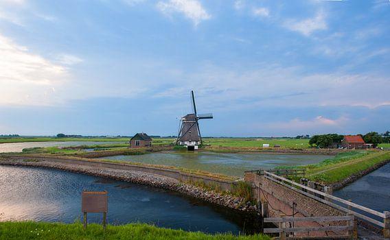 A windmill  on the Island