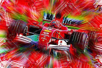 Michael Schumacher - Rood van Jean-Louis Glineur alias DeVerviers