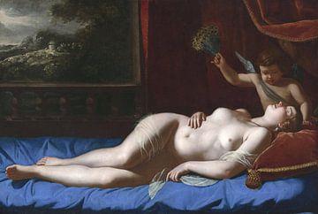 Venus und Amor, Artemisia Gentileschi