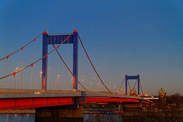 Friedrich-Ebert-Brücke in Duisburg (7-19863) von Franz Walter