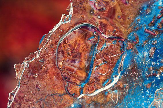 heart in ice.. van Els Fonteine