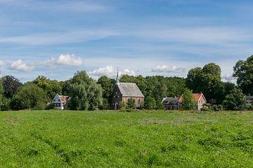 Mooi zicht op historische deel van Oud-Zuilen van Patrick Verhoef