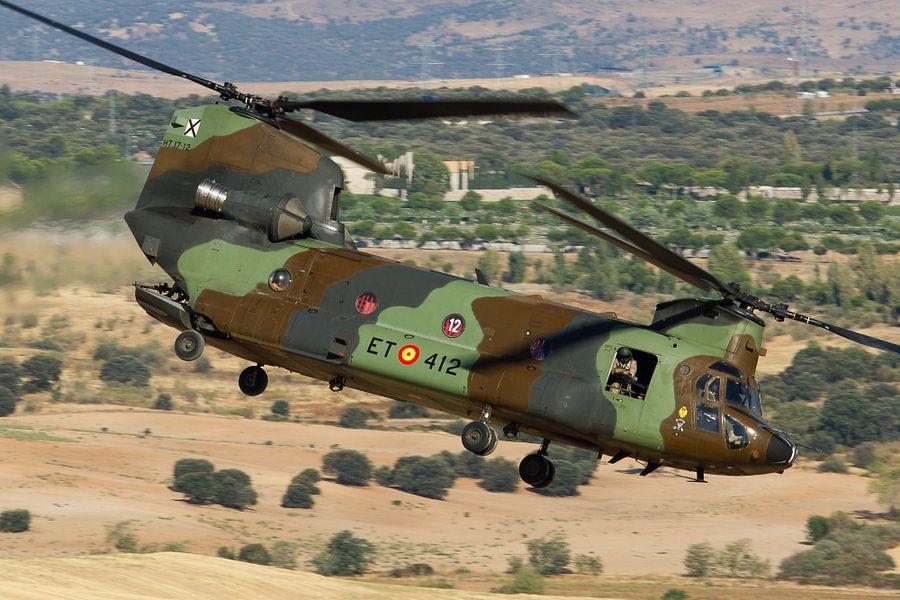Spaanse Landmacht CH-47 Chinook van Dirk Jan de Ridder