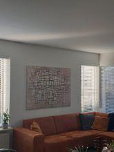 Kundenfoto: Piet Mondriaan No. 11, auf leinwand