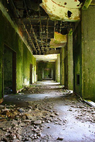 Verlassenes Hotel Monte Palace Azoren sur Jan Brons