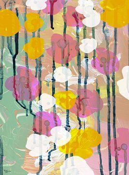 Bloemen langs de weg van ART Eva Maria