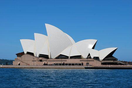 Sydney Opera House - Australië van Maurits Simons Fotografie