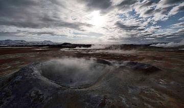 Hverir IJsland Geolandschap van Ruud van der Lubben