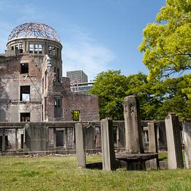 De ruïne van Hiroshima van Kees van Dun