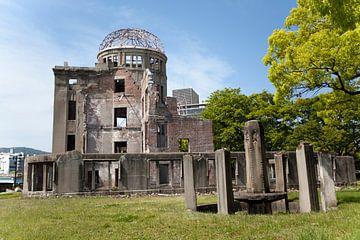 De ruïne van Hiroshima van