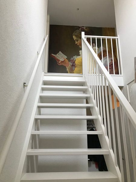 Kundenfoto: Lesende Mädchen, Jean-Honoré Fragonard