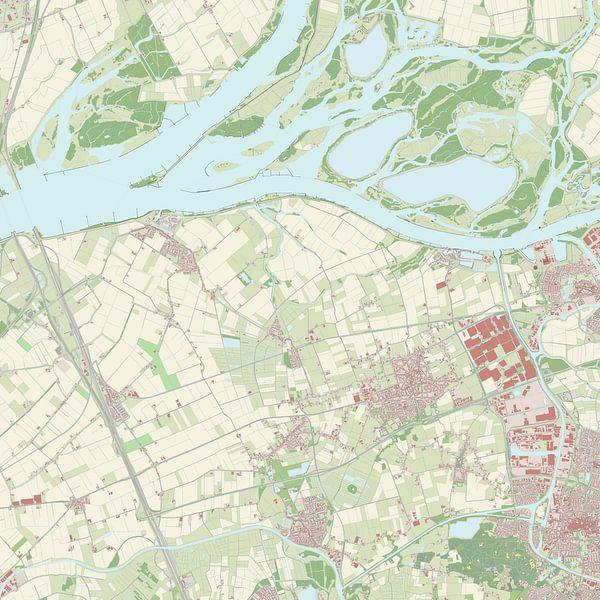 Kaart vanDrimmelen
