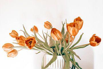 mooie rode tulpen van Michael Schulz-Dostal
