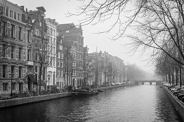 Nebliges Amsterdam