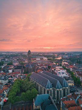 Zwolle van boven von Thomas Bartelds