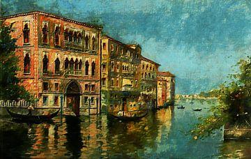Oud Venetië van Lutz Roland Lehn