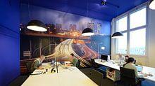 Klantfoto: Europalaan en A12 in Utrecht van Donker Utrecht, als behang