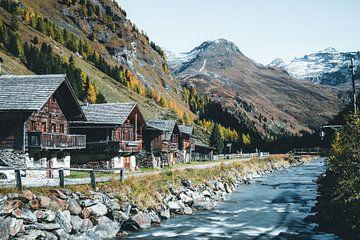 Binnenkastelen Oost-Tirol in de herfst van Daniel Kogler