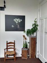 Kundenfoto: Ein bisschen Glück an der Wand, Löwenzahn aus der Goldener Zeitalter von Joske Kempink, auf leinwand
