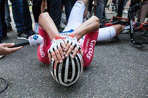 Mathieu van der Poel wint Amstel Gold Race van