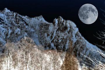 Berchtesgadener Alpen - Die schlafende Hexe  von Christine Nöhmeier