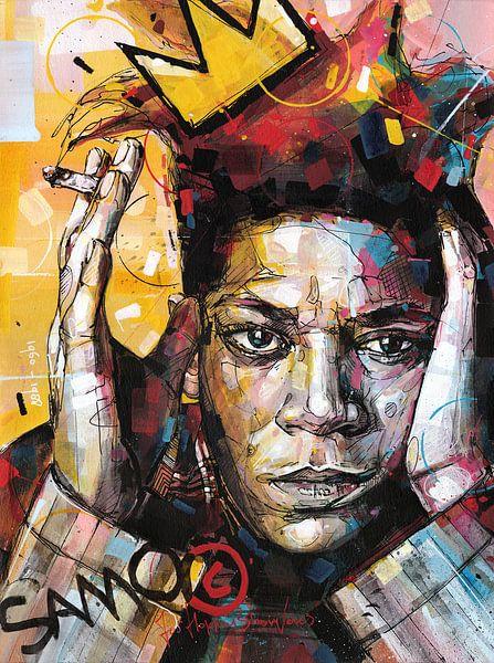 Gemälde von Jean Michel Basquiat. von Jos Hoppenbrouwers