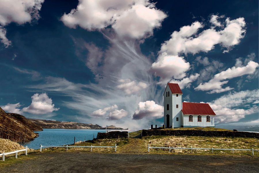 IJslands landschap van Gert Hilbink