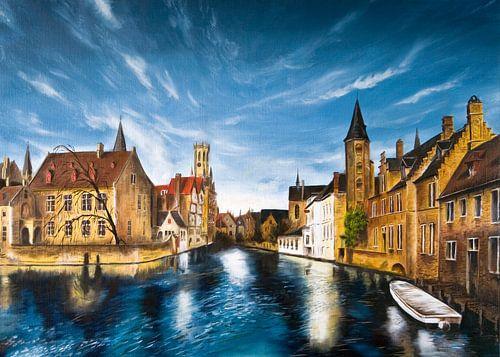 Rozenkaai Brugge België